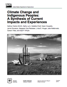 Climate Change and Indigenous Peoples: A Synthesis of Current Impacts and Experiences