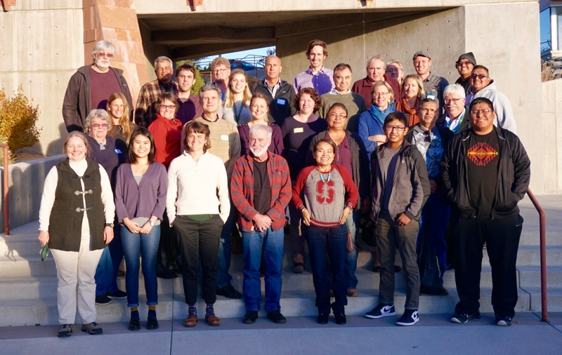 The Native Waters on Arid Lands team, November 14, 2017.