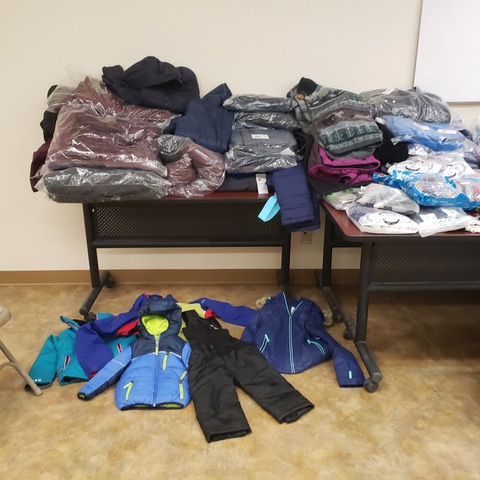 Donations sent to Alaskan villages during NWAL's December donation drive.